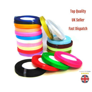 1 - 50 Yard Roll (46 Metres) of 10mm Sheer Organza Ribbon