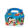 10 x Treat Boxes Cupcake Gift Bags Kids ML Christmas Scene