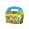 10 x Treat Boxes Cupcake Gift Bags Kids ML Farm