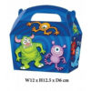 10 x Treat Boxes Cupcake Gift Bags Kids ML Monster