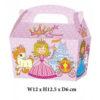 10 x Treat Boxes Cupcake Gift Bags Kids ML Princess