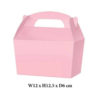 10 x Treat Boxes Cupcake Gift Party Loot Bag ML Baby Pink
