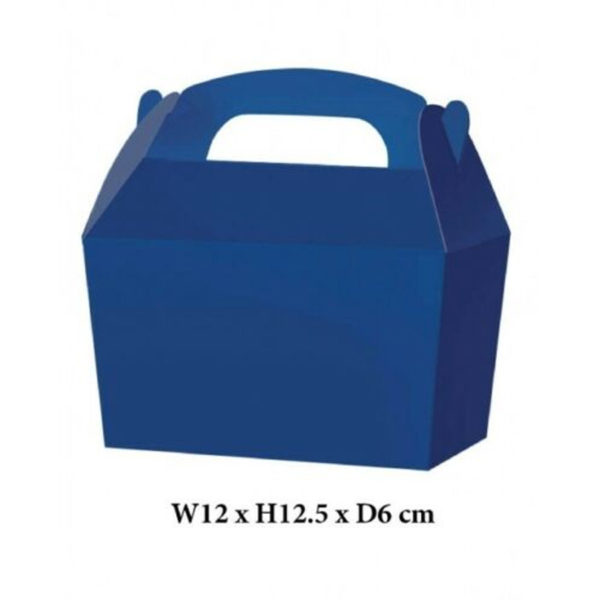 10 x Treat Boxes Cupcake Gift Party Loot Bag ML Blue