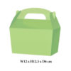 10 x Treat Boxes Cupcake Gift Party Loot Bag ML Green