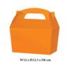 10 x Treat Boxes Cupcake Gift Party Loot Bag ML Orange