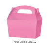 10 x Treat Boxes Cupcake Gift Party Loot Bag ML Pink