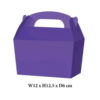 10 x Treat Boxes Cupcake Gift Party Loot Bag ML Purple