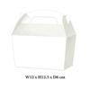10 x Treat Boxes Cupcake Gift Party Loot Bag ML White
