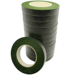 Dark Green Florist Stem Tape