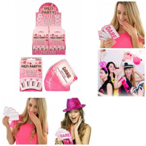 Hen Party Dare Cards Fun Drinking Games