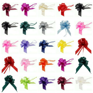 Large 50mm Party Pull Bows Floristry ML
