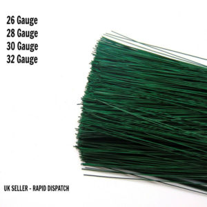 Oasis Green Stub Wire Florist Wire