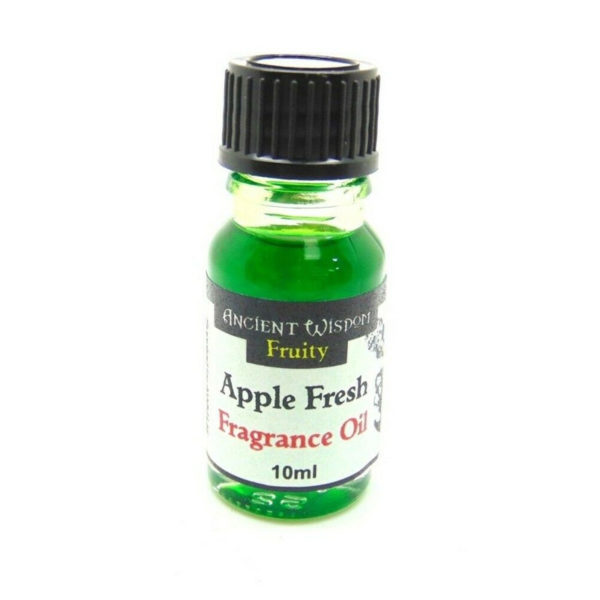 10ml Aromatherapy Ancient Wisdom Fragrance Oils Diffuser Oil Burners scent Apple Fresh