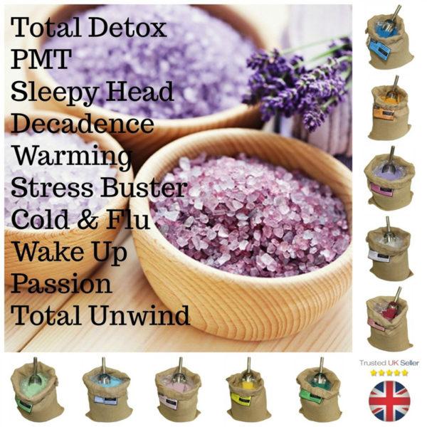 Ancient Wisdom Scented Bath Sea Salts Aromatherapy