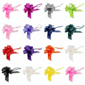 Wedding Car Decoration Kit 7 metres ribbon 1-3 or 5 large bows gift wrap