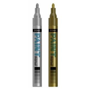 Bullet Tip Paint Marker Pen - Waterproof Paints Car Tyre Touch Up Bullett Pen ML