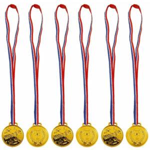 Children's Gold Medal Sports Day School Party Award Fun Run Kids Winner Event