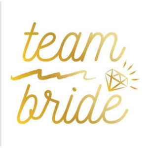 Team Bride Gold Temporary Tattoos Bride To Be Hen Party Do Tribe Squad UK
