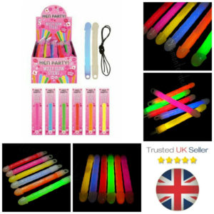 Willy Glow Sticks Novelty Hen Party Penis Light Up Night Ladies Women